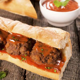 Copycat Subway Meatball Sandwich