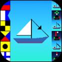 The maritime signalling icon
