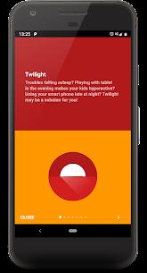 Twilight 🌅 Blue light filter for better sleep 3