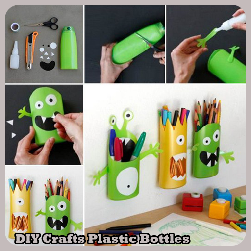 Diy crafts plastic bottles android apps on google play for Craft using waste bottles