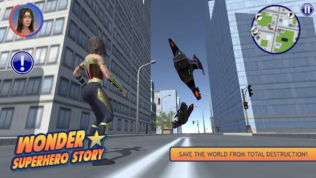 Wonder Superhero Story apk screenshot