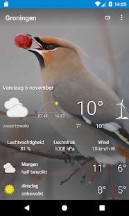 Groningen - Weer - náhled