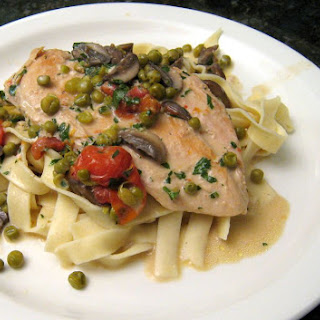 Chicken with Boursin Cheese Sauce Recipe