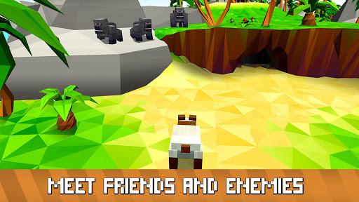 Blocky Panda Simulator - be a bamboo bear! 2.2.4 screenshots 10