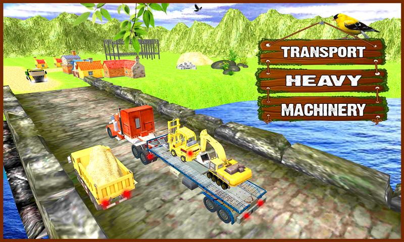 android Farm Construction Simulator Screenshot 1