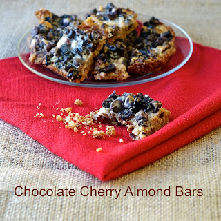 Chocolate Cherry Almond Magic Layer Bars