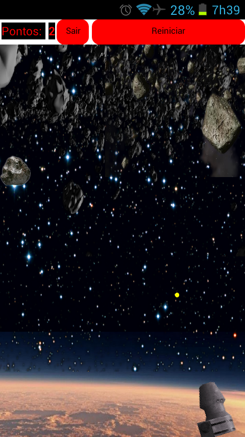 Asteroide Invaders- screenshot