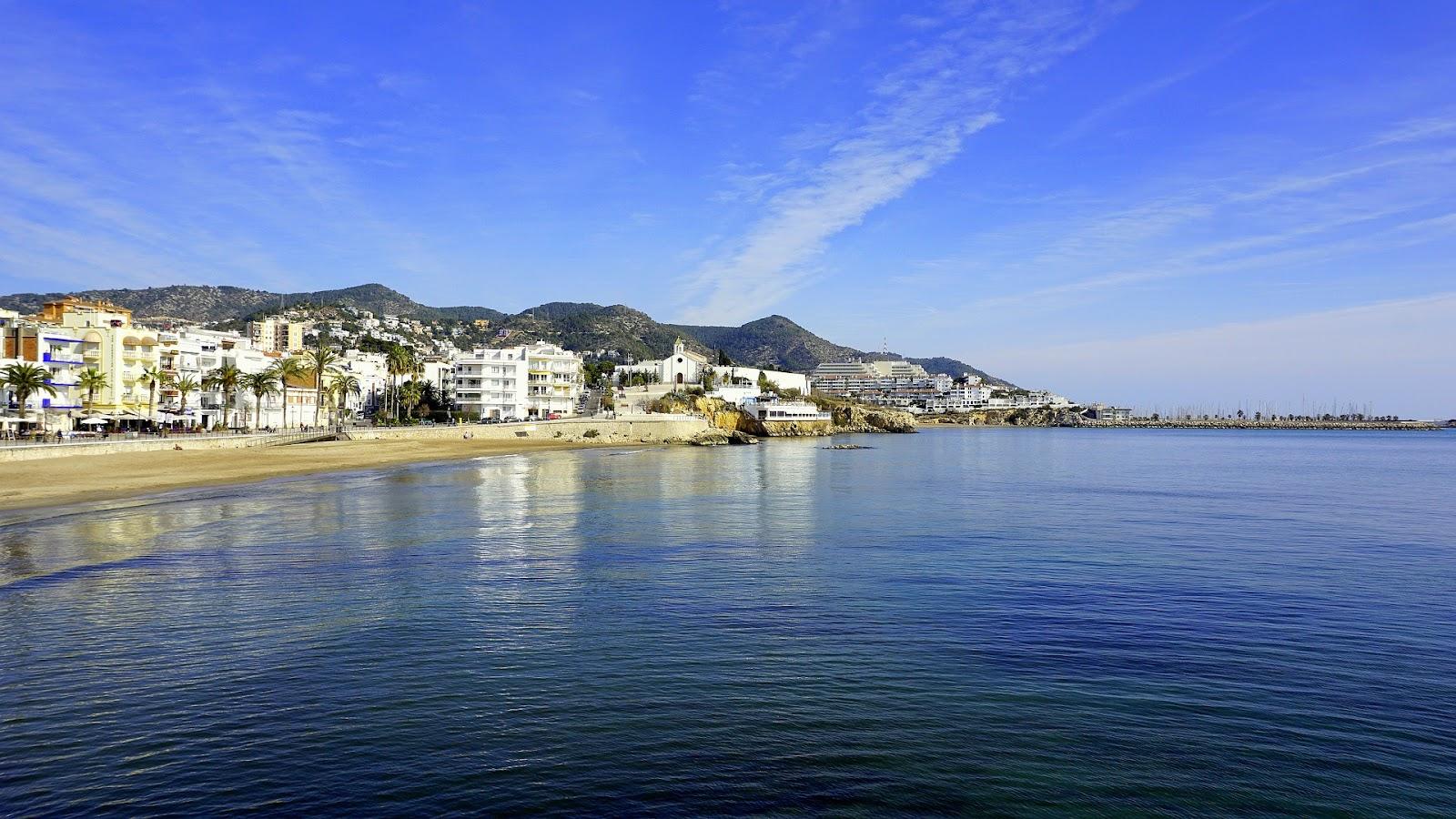 playa de Barcelona sitges