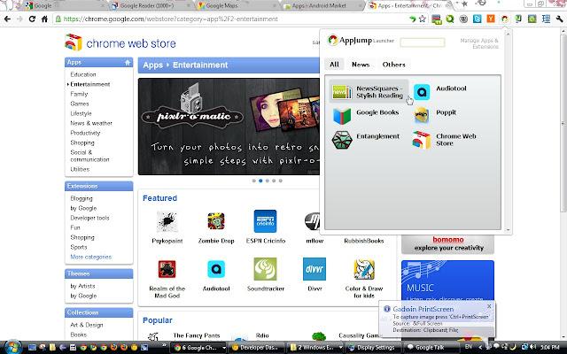 AppJump App Launcher and Organizer