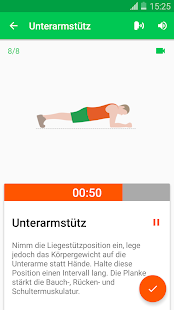 30 Tage Fitness Challenge Screenshot