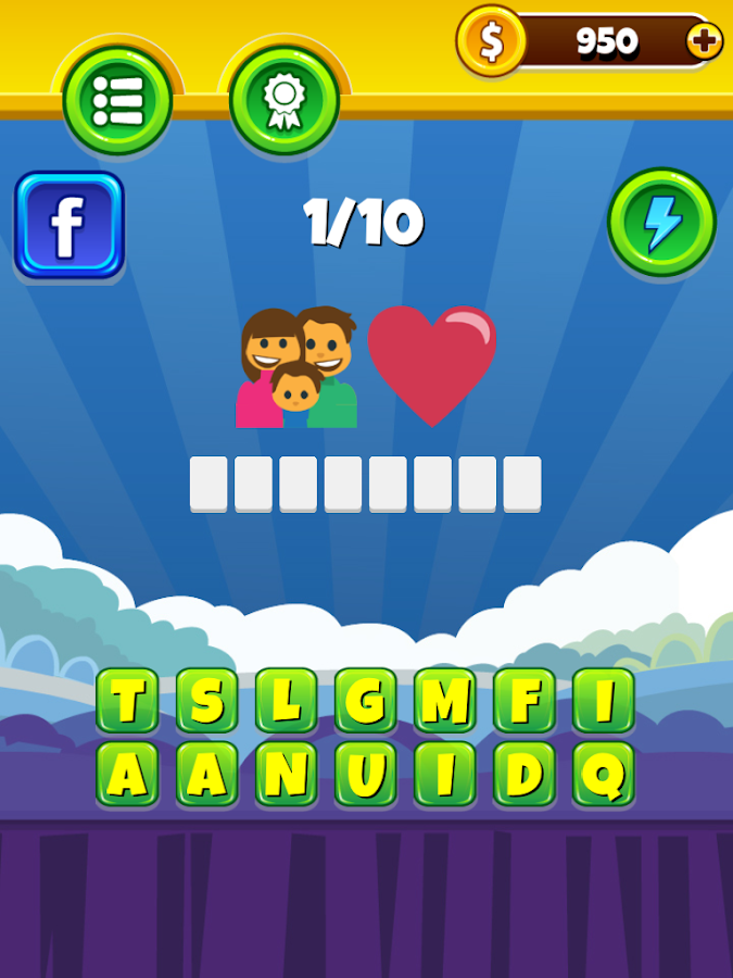 Emoji Word Quiz- screenshot
