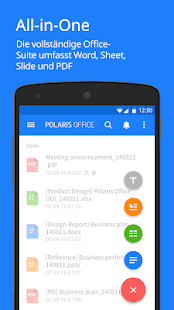 Polaris Office - Word, Docs, Sheets, Slide, PDF Screenshot