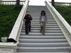 Photo: Les Burqas arrivent (Yvette et Marguerite)