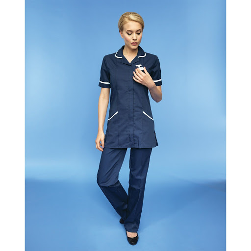 Vitality Healthcare Tunic (Navy/ White)