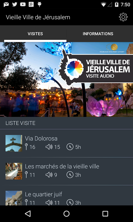 Vieille Jérusalem Visite Audio- screenshot