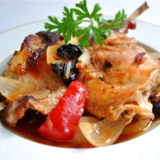 Rabbit In White Wine With Vegetables