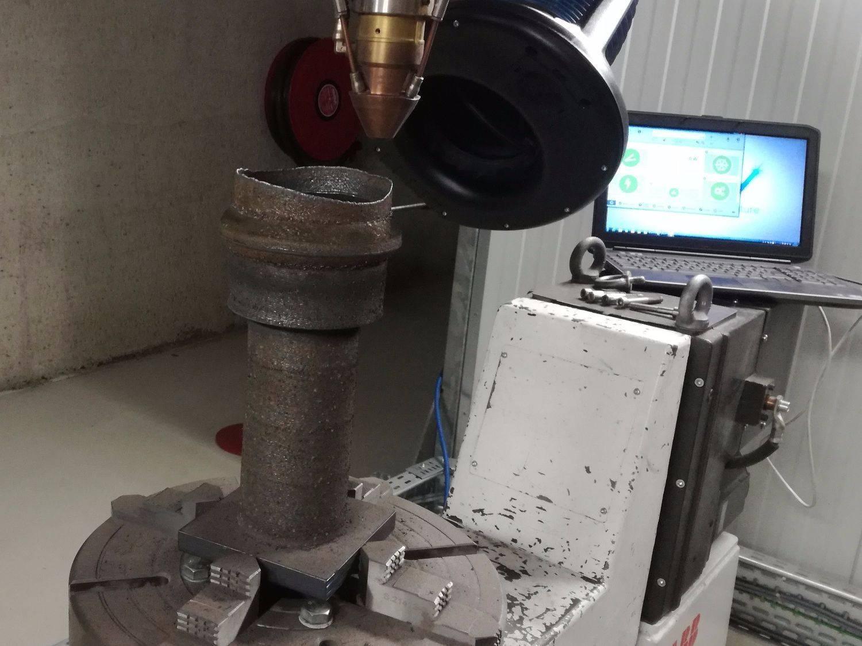 LCV print een onderdeel van een halve meter op minder dan 3 uur