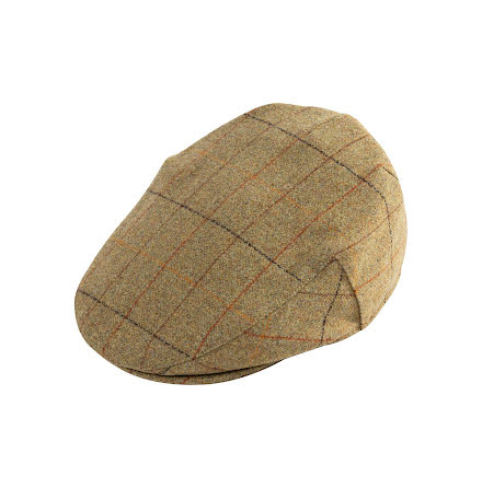 Alan Paine Combrook Mens Tweed Flat Cap