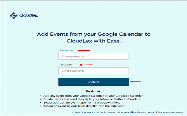 CloudLex Calendar QA New