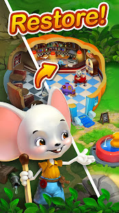 World of Mice: Match and Decorate MOD apk
