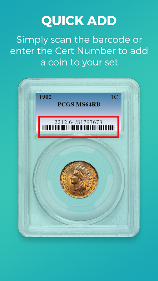 Coin Collection - Set Registry- screenshot