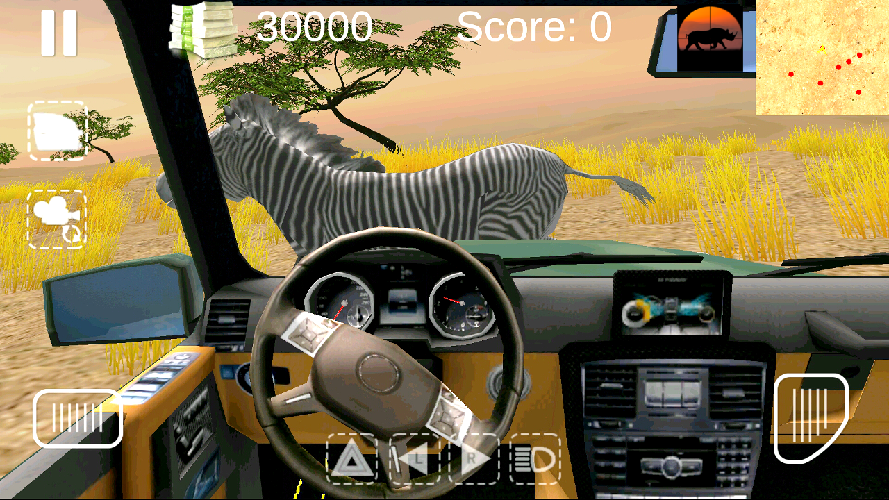 Safari Hunting 4x4- screenshot