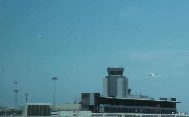 Décollages parallèles à l'aéroport de San-Francisco