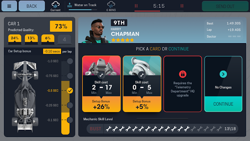 Motorsport Manager Mobile 3 - screenshot