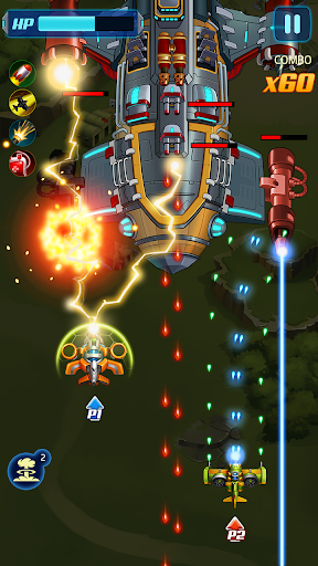 Infinity Strike - Space Shooting Idle Chicken  screenshots 3
