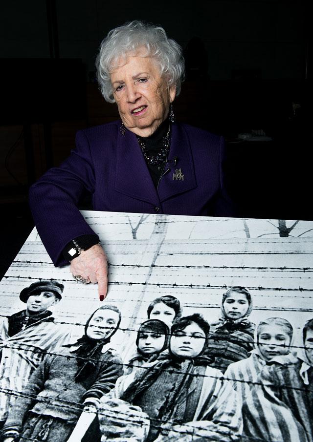 """Мириам Зиглер (79 лет) - бывшая узница концлагеря """"Освенцим"""""""