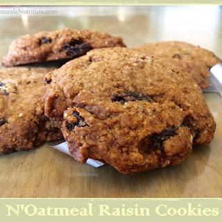 Ultra Decadent N'Oatmeal Raisin Cookies - Au Naturale!.