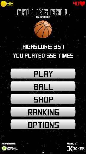 Space Falling Ball 1.5 screenshots 2