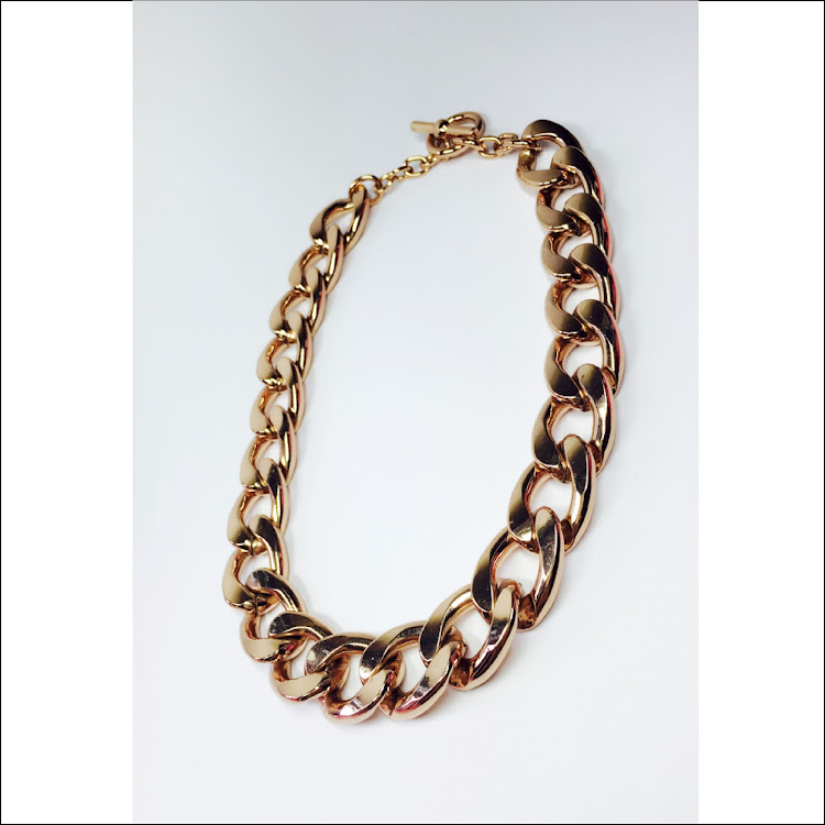 N043 - RG. Gradated Chain Necklace