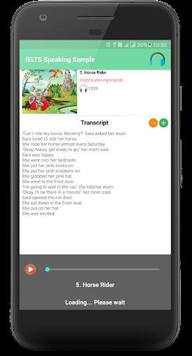 IELTS SPEAKING SAMPLE 2.0.7 screenshots 10