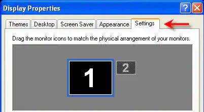 Adjust monitor native resolution in Windows