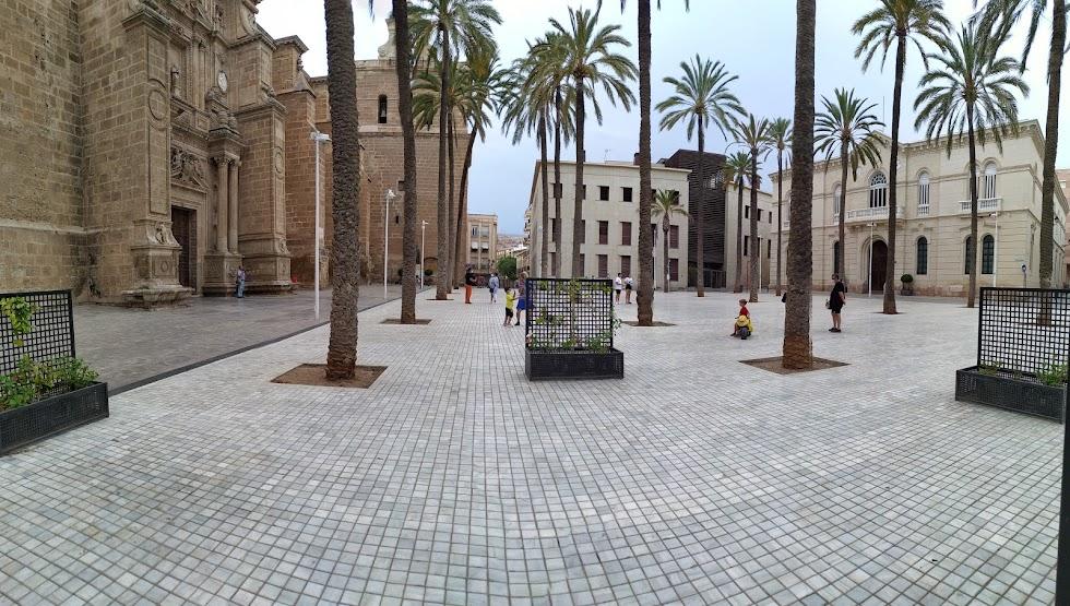Panorámica de la Plaza de la Catedral