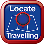 Locate Travelling Icon