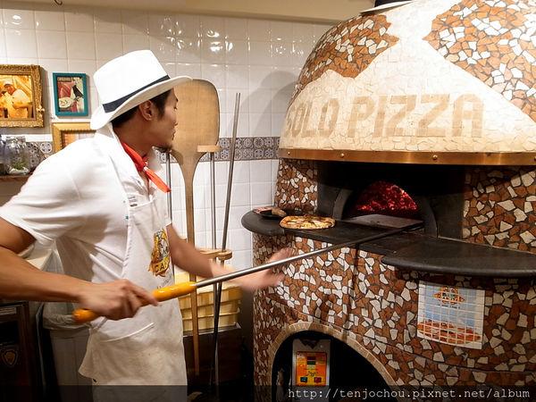 SOLO PIZZA世界第一拿坡里披薩 98元就可吃到 赤峰街捷運中山站必吃美食推薦