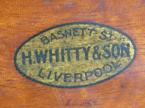 Photo: CH305 H.Whitty & Son logo on my board/box - 