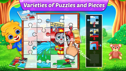 Puzzle Kids - Animals Shapes and Jigsaw Puzzles screenshots 7