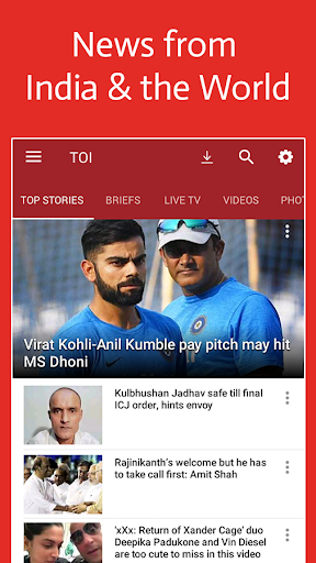 News by The Times of India screenshot 1