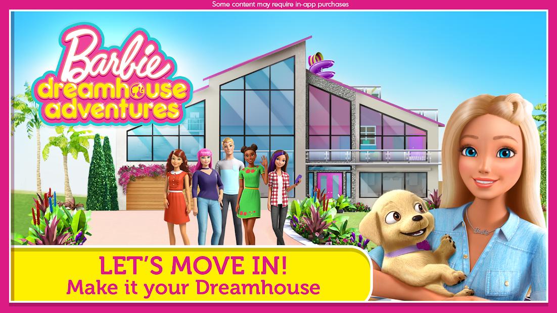 Barbie Dreamhouse Adventures Android App Screenshot