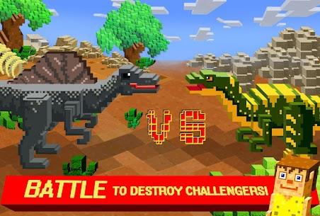 Jurassic Pixel Craft: dino age 7