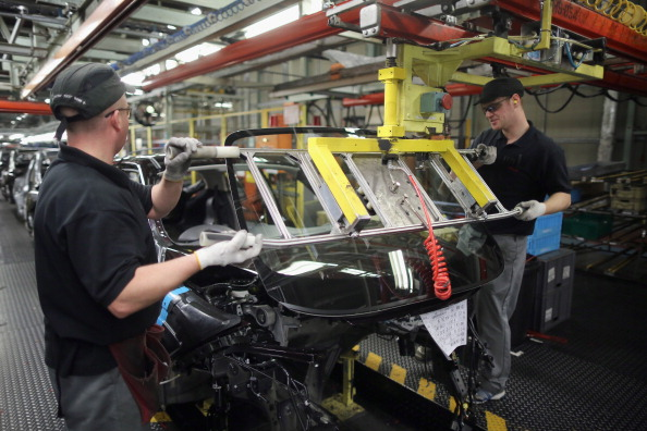 Nissan's Car Manufacturing Plant In Sunderland