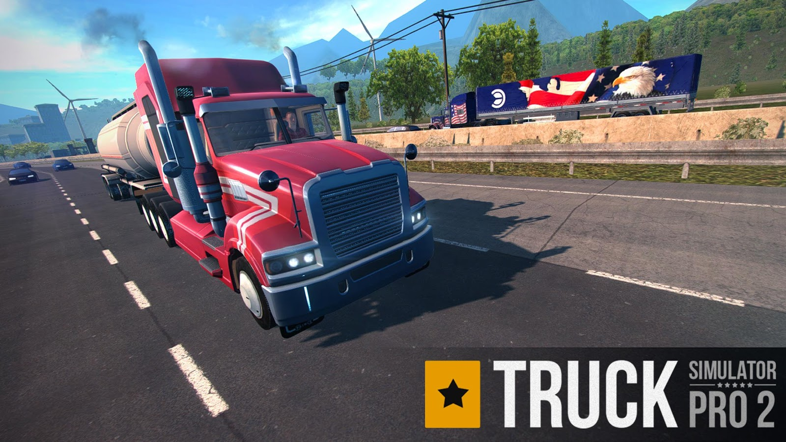 Download Truck Simulator PRO 2 Android Game for Free