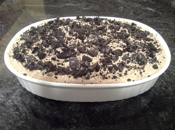 Chocolate Peanut Butter Oreo No Bake Dessert Recipe