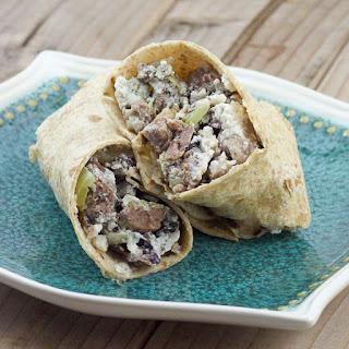 Greek Breakfast Wrap.