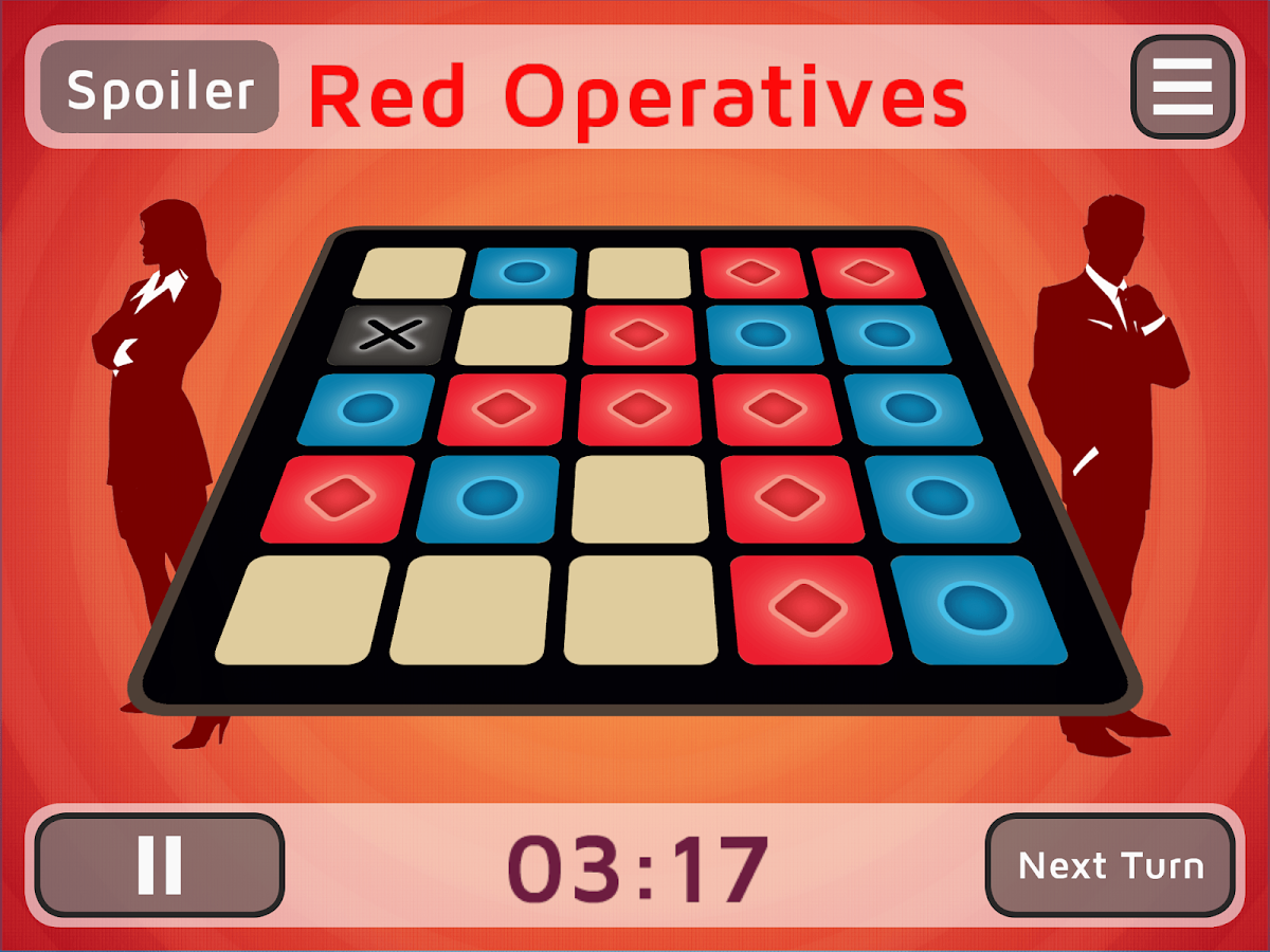 Codenames Gadget- screenshot