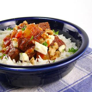Crock-Pot Greek-Style Beef Stew.