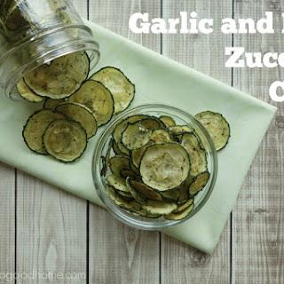 Garlic and Herb Zucchini Chips